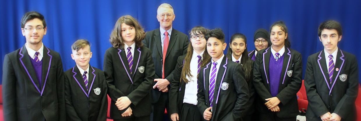 A Visit from Hilary Benn MP